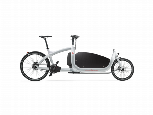 triobike cargo 2019 silver with side panel side