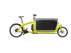 triobike cargo big yellow flightcase 41cm side